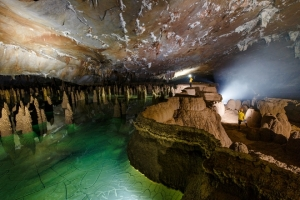 New adventure tour explores caves in Quang Binh