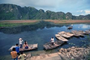 Van Long Lagoon - An attractive eco-tourism site