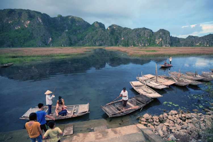 Van Long Lagoon - An attractive eco-tourism site