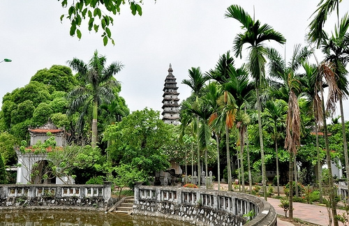 Pho Minh pagoda - unique and ancient pagoda in Nam Dinh city