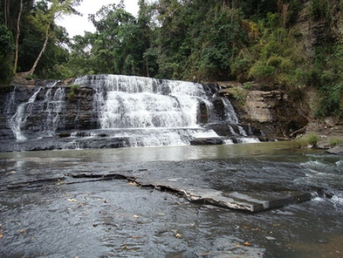 Ba Tang waterfall (Three layers waterfall)